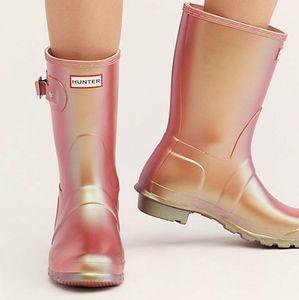NWT Hunter Nebula Short Rain Boot